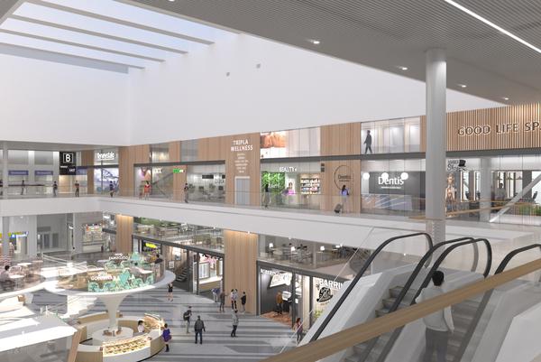Ostospäivä Mall of Triplaan