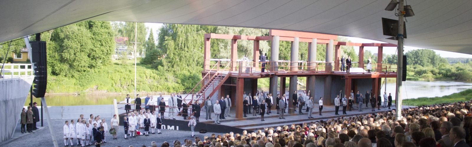 Ilmajoen musiikkijuhlat Hiljaiset perivät maan -ooppera lapuanliikkeestä