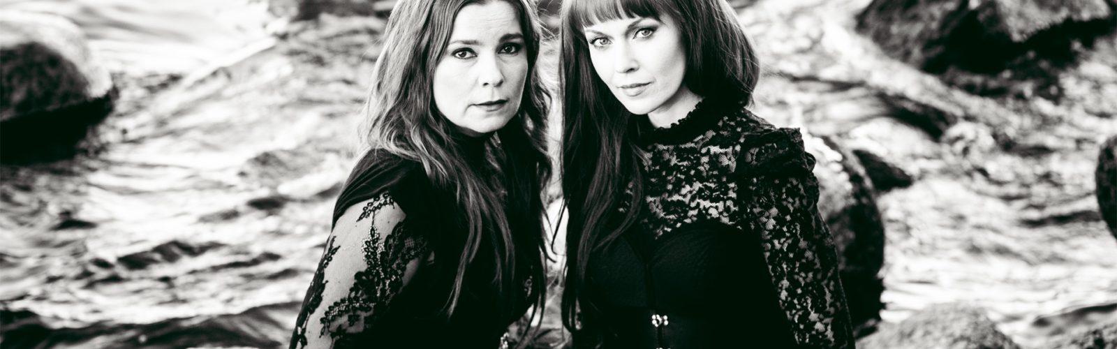 Johanna Iivanainen ja Johanna Kurkela Altamullan Road Tampere